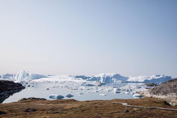 Auf dem Weg zum Eisfjord