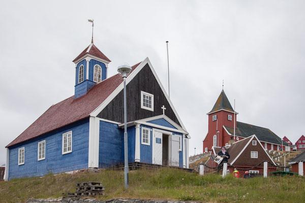Alte und neue Kirche