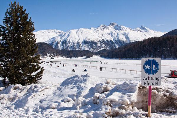 Der See von St. Moritz