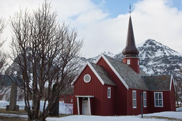 Die Kirche von Flakstad