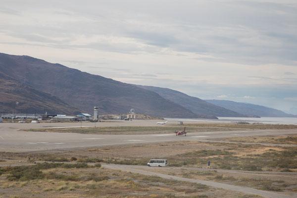 Der internationale Flughafen