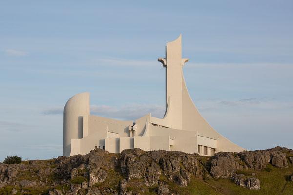 Die neue Kirche von Stykkisholmur