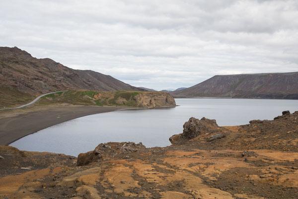 Der Kleifarvatn-See