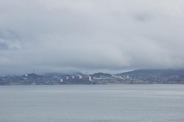 Ankunft in Nuuk