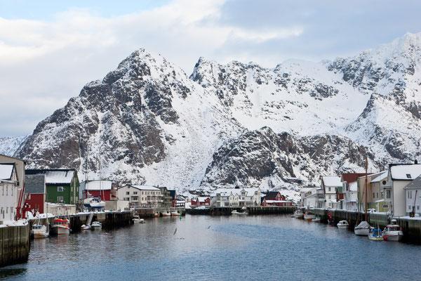 Der Hafen von Hennigsvær