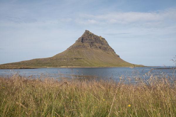 Der Kirkjufell auf der Halbinsel Snæfellsnes