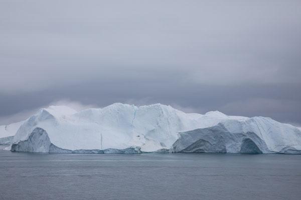 Am späten Nachmittag - Abschied von Ilulissat
