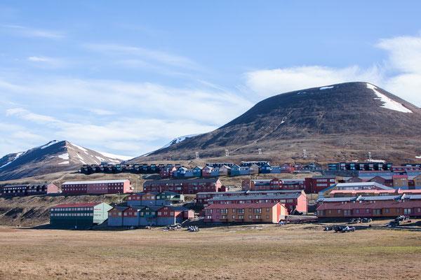 Longyearbyen - die Hauptstadt Spitzbergens