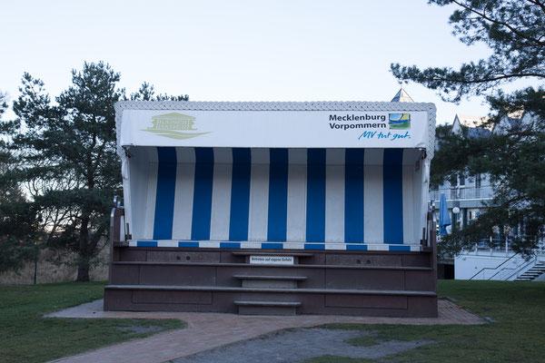 Der größte Strandkorb der Welt in Heringsdorf
