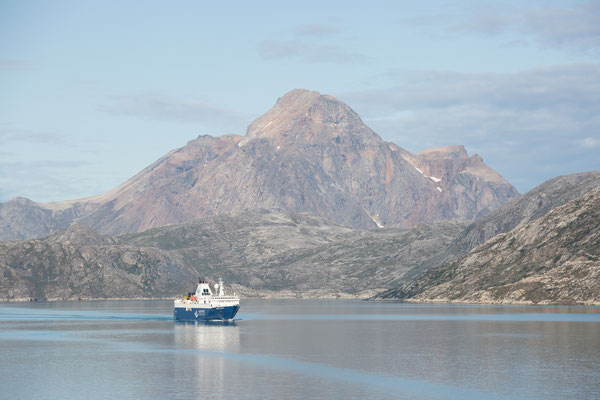 Nicht allein im Arsukfjord - die Ocean Atlantic