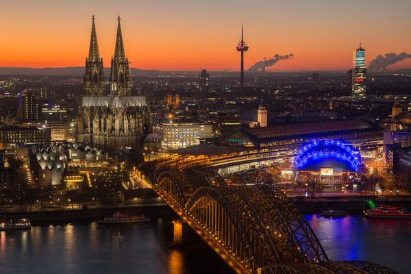 Das Köln-Panorama vom LVR-Turm aus gesehen