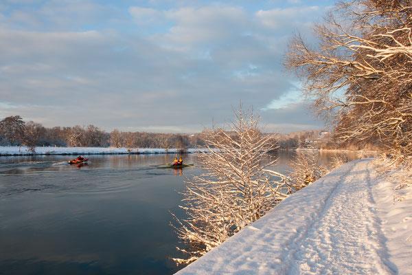 Winternachmittag an der Ruhr