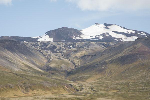 Blick auf den Snæfellsjökull
