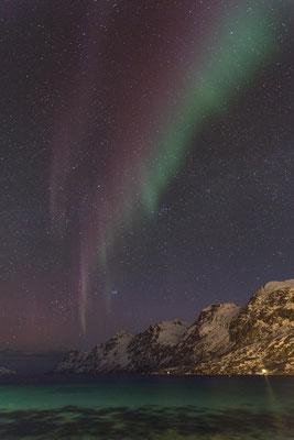 Am Ersfjord in der Nähe von Tromsø