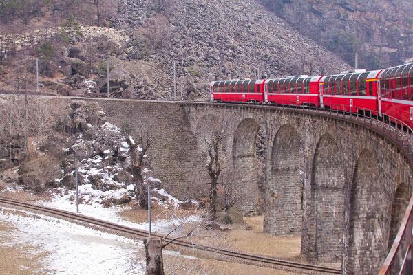 Das Brusio-Viadukt