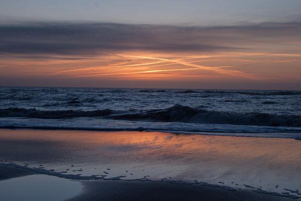 Sonnenuntergang bei Rantum / Sylt