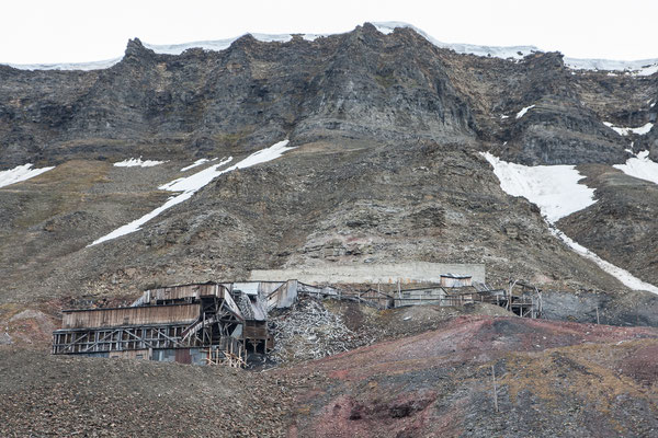 Überreste aus der Blütezeit des Bergbaus