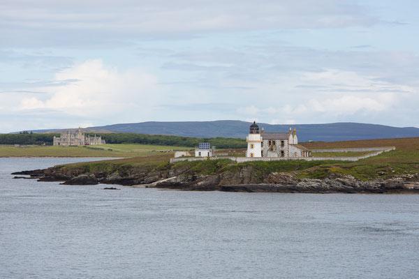 Kurz vor Kirkwall, der Hauptstadt der Orkney-Inseln