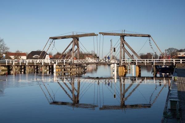 Die Klappbrücke von Wieck