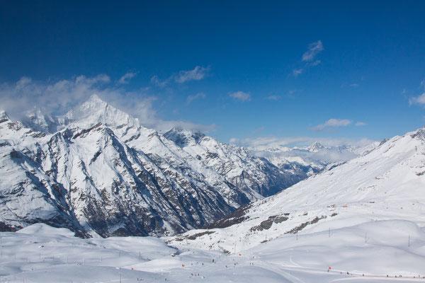 Die Bergwelt ums Matterhorn