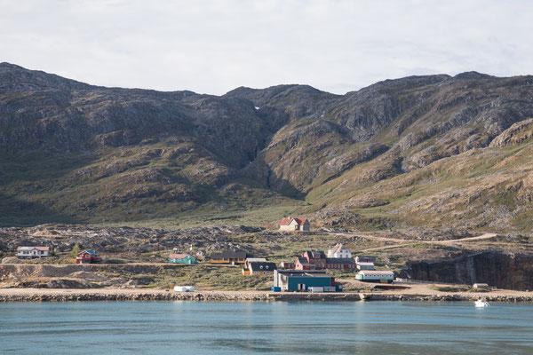 Ivittuut, eine verlassene Bergbausiedlung