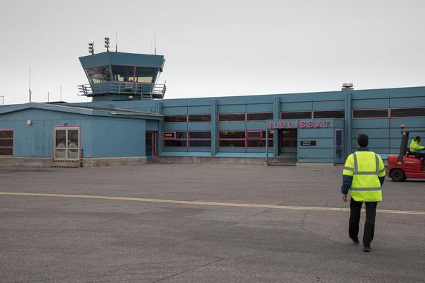 Der Flughafen von Ilulissat