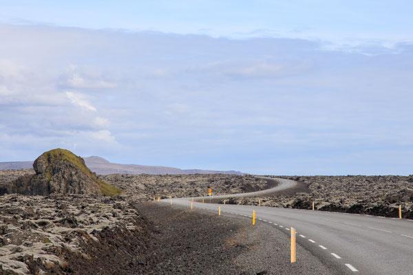 Auf dem Weg nach Grindavik