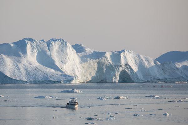 Es wird Abend in Ilulissat