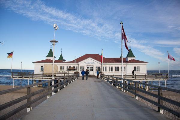 Die Seebrücke von Ahlbeck