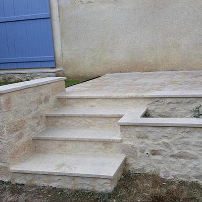 Aménagements extérieurs - Escaliers