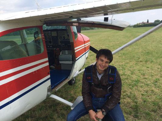 Adrian,der Pilot