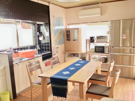 ゲスト専用キッチン Common Kitchen