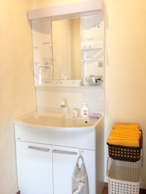 洗面所 Wash Room