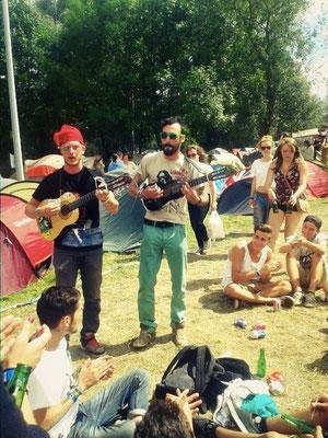 EcoFestival Cabaret Vert à Charlevilles Mézières en Août 2014.