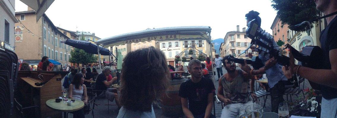La Taverne de Pan à Embrun en Juillet 2015.
