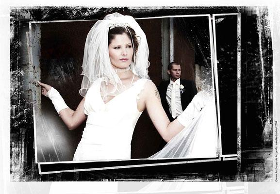 Hochzeits Collage Exklusive