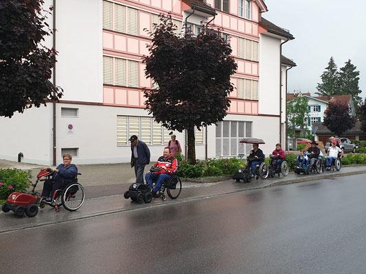 SwissTracs in a Row...
