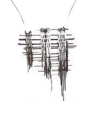 Found steel Necklace II
