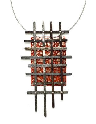 Found steel Necklace