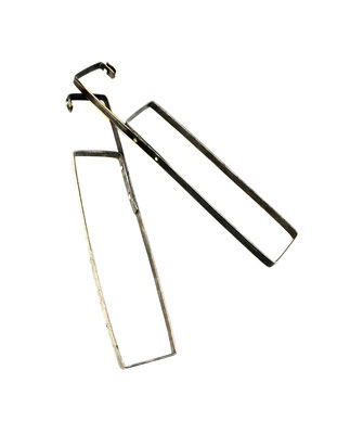 Found steel Earrings