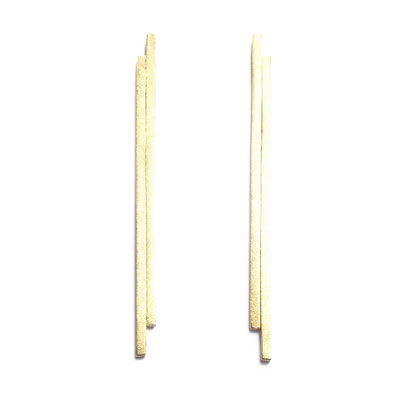 Squarewire earrings long