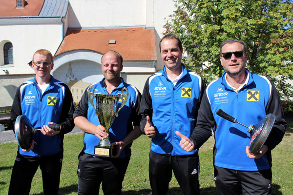 1. Platz: SV Weikertschlag/Oberndorf
