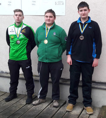 Junioren: Philipp Fandl, Bernhard Pfeisinger, Stefan Gruber
