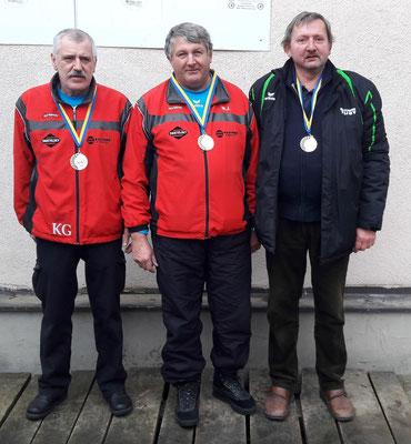 Senioren: Gerhard Kreutzer, Johann Meidl, Johann Engelmayer