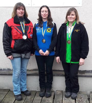 Damen: Regina Hochstöger, Karin Hofbauer, Margit Zellhofer