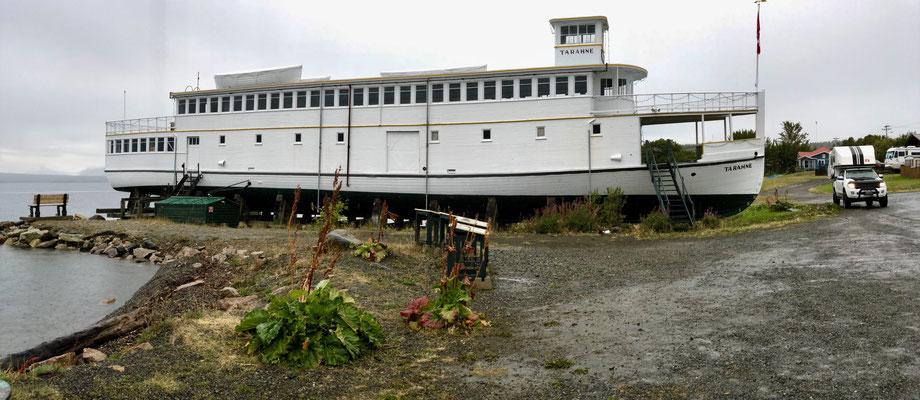 Tarahne Dampfschiff aus 1898