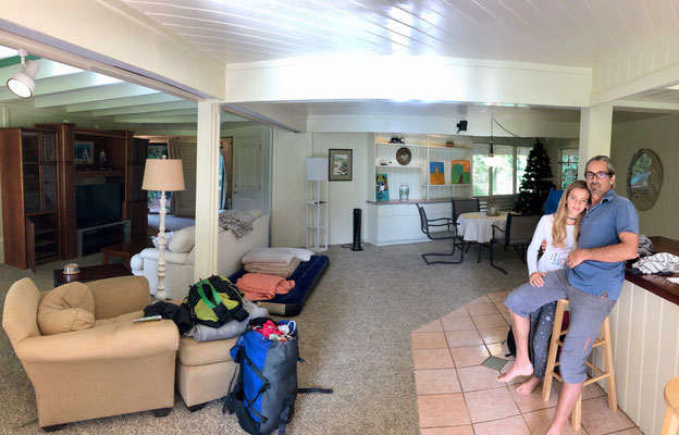 our Apartment in Princeville from the inside