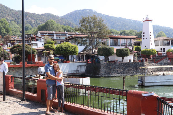 We arrived in Valle de Bravo after an whole days journey which was distance wise just 550km