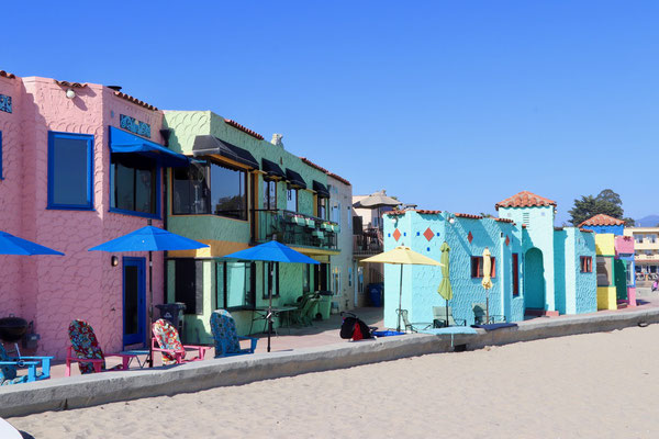 farbige Häuser