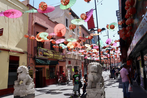 There is also a China Town in Mexico City